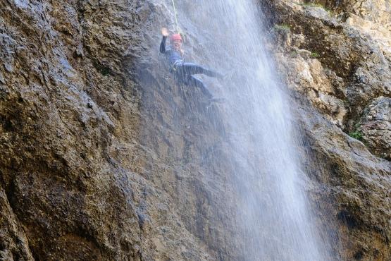 canyoning julian alps