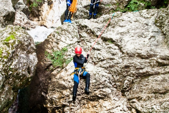canyoning soca