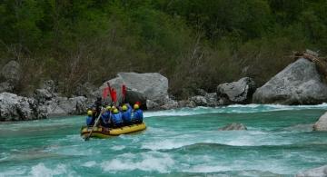 rafting soca valley