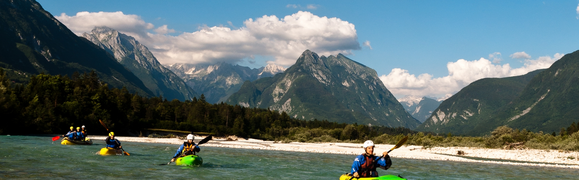 kayak slovenia